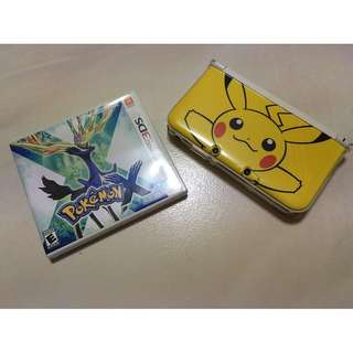 [price reduced](NOT *NEW*) Nintendo 3DS XL Limited Pikachu Edition