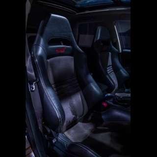 Subaru STI Spec C Recaro comes with rear seats for STI Hatchback Very rare