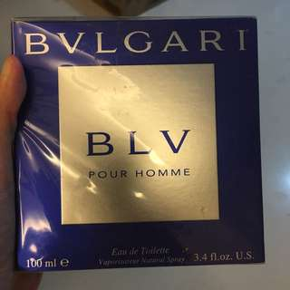 Bvlgari Perfume BLV Pour Homme