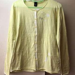 黃色薄冷衫