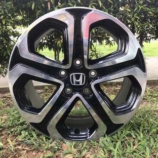 17in PCD 5-114.3 Original Honda Vezel Rim On Sale