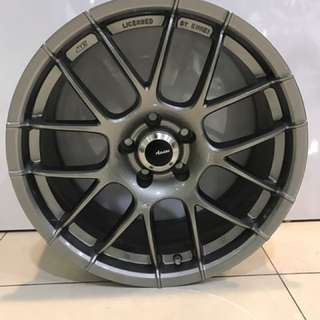 18in PCD 5-112 Flow Forming Forged Rims On Sale