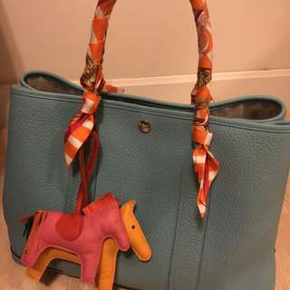 Hermes garden party gp 36 95%new