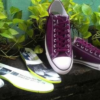 Sepatu Converse CTAS Pro Dark Sangria size 10/44/28.5cm