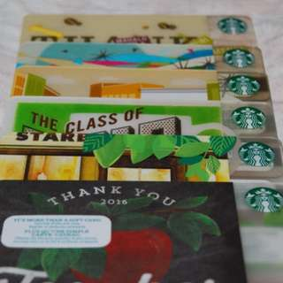 Collectible US Starbucks Card