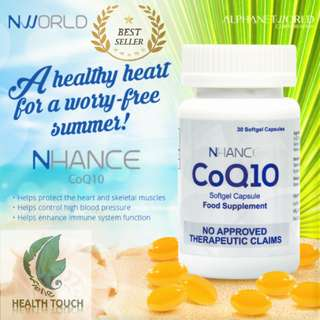 NHANCE CoQ1o Soft Gels 30Capsules 30mg. - CASH ON DELIVERY!
