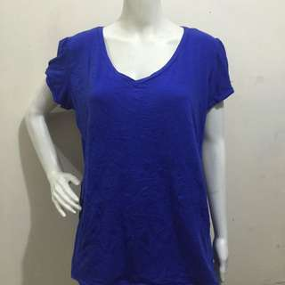 BONGO PLUS size blue women tshirt/blouse 3xl