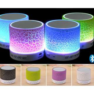 Brand New Dancing LED Light Portable Wireless Bluetooth Speakers