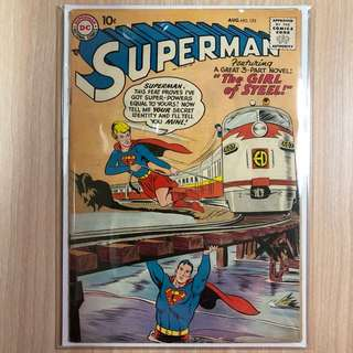 DC COMICS Superman #123-Supergirl Tryout (Serious Buyers Only)