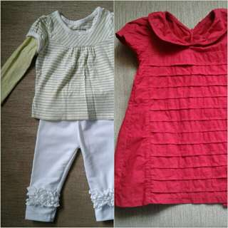 Bundled Baby Clothes