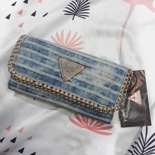 Guess Denim Wallet