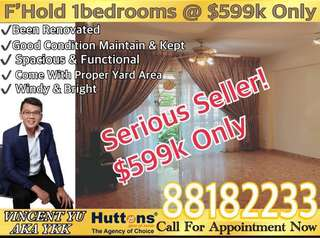Freehold 1 Bedroom 657Sqft @ $599k Only