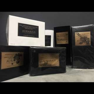 Aurarius gold elements skin care products