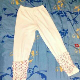 Legging katun for 5 - 6 yo.