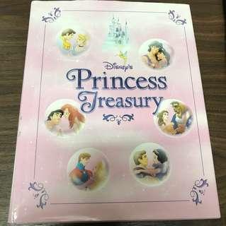 Disney princess treasury book