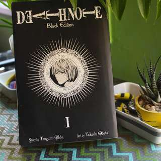 Death Note volume I (Black Edition, contains four volumes from volume 1-4)