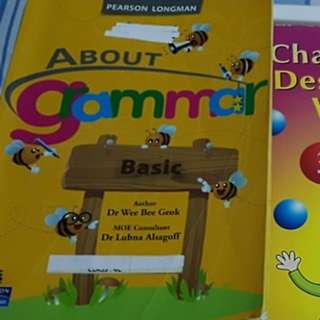 Free English Grammar Vocabulary creative writings books with purchase (Primary P3 P4)