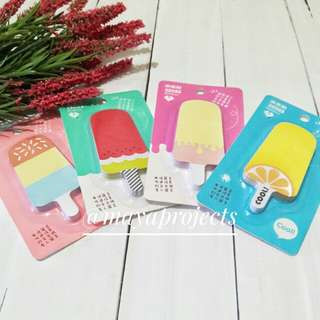 Popsicle Sticky Notepad