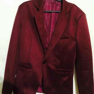 Coat (Maroon)