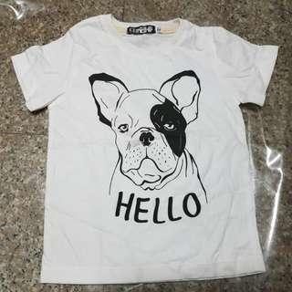 BN Hello Dog Kids Tee