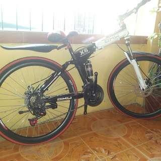 Folding bike bmw