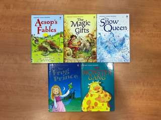 Usborne Young Reading (Hardcover)(Set of 5)