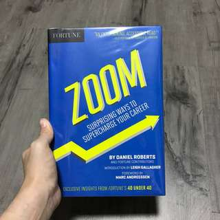 Zoom (Surprising ways to supercharge your career) - Daniel Roberts