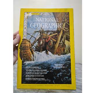 National Geographic January 1971 Edition
