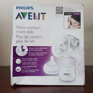 Avent single manual breast pump