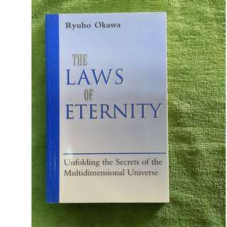 *Half Price!* Brand New Book 'Law of Eternity'