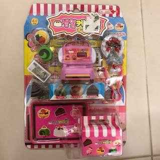 Children pastry shop toy