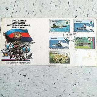 1933-1983 Jubli Emas Angkatan Maylasia 馬來西亞  郵票 軍人stamp