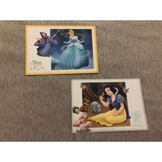 Disney princess postcard