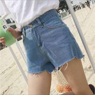 Brand New Highwaist Ripped Denim Shorts