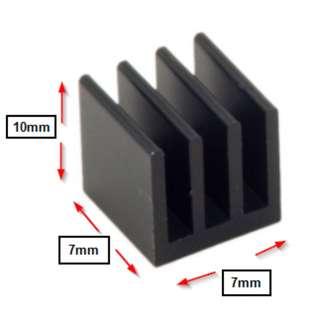 Heatsink for motherboard mosfet