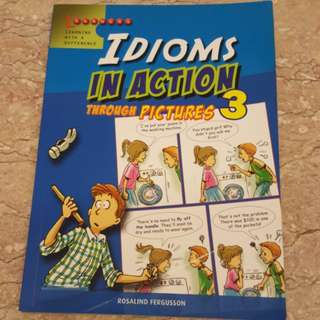 Idioms in action through pictures 3