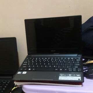 jual notebook acer d255