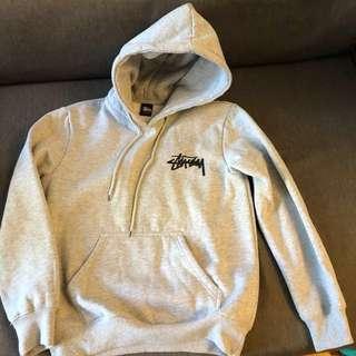 Stussy hoodie 灰色衛衣 M碼 nmd Nike adidas Gucci Prada fendi Reebok  puma fila edc余文樂 unisex