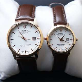 Jam Rolex Oyster Couple Premium
