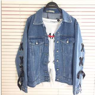Jaket denim tumblr