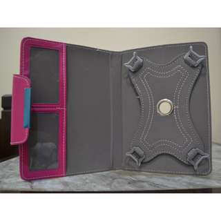 360 degree Rotate Cover Case for Google Nexus 7 (Rose Red)