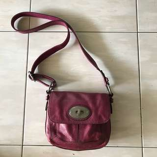 Authentic Fossil Women Leather Bag