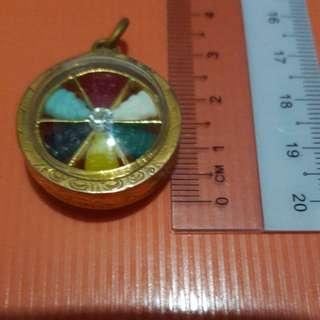 7 colour buddha amulet