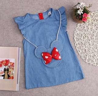 Minnie Denim Dress