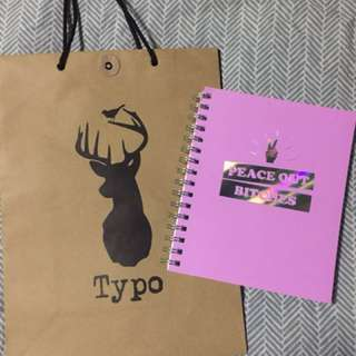 Typo A5 Campus Notebook 240 pages