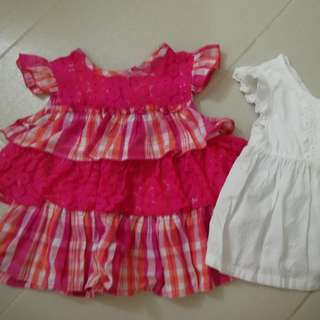 2-3 yrs old girl's tops @2pcs
