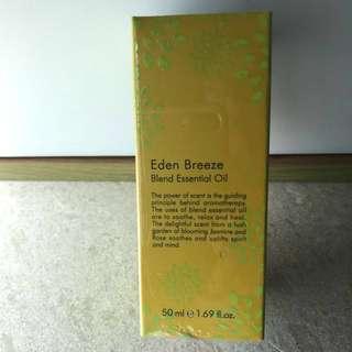 Thann  Eden Breeze Essential Oil 50 ml 伊甸園純天然香薰油 香港行貨