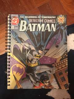 DC typo notebook