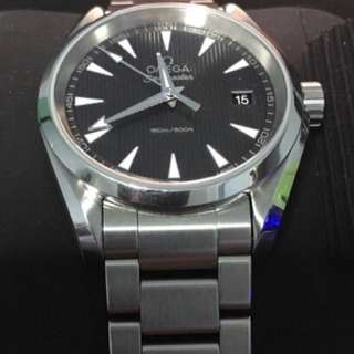 Mint Omega Seamaster Aqua Terra 300m 38.5mm Quartz Watch #Huat50Sale
