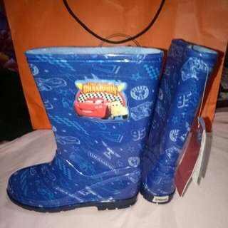 Boots Cars blue Disney size 190mm